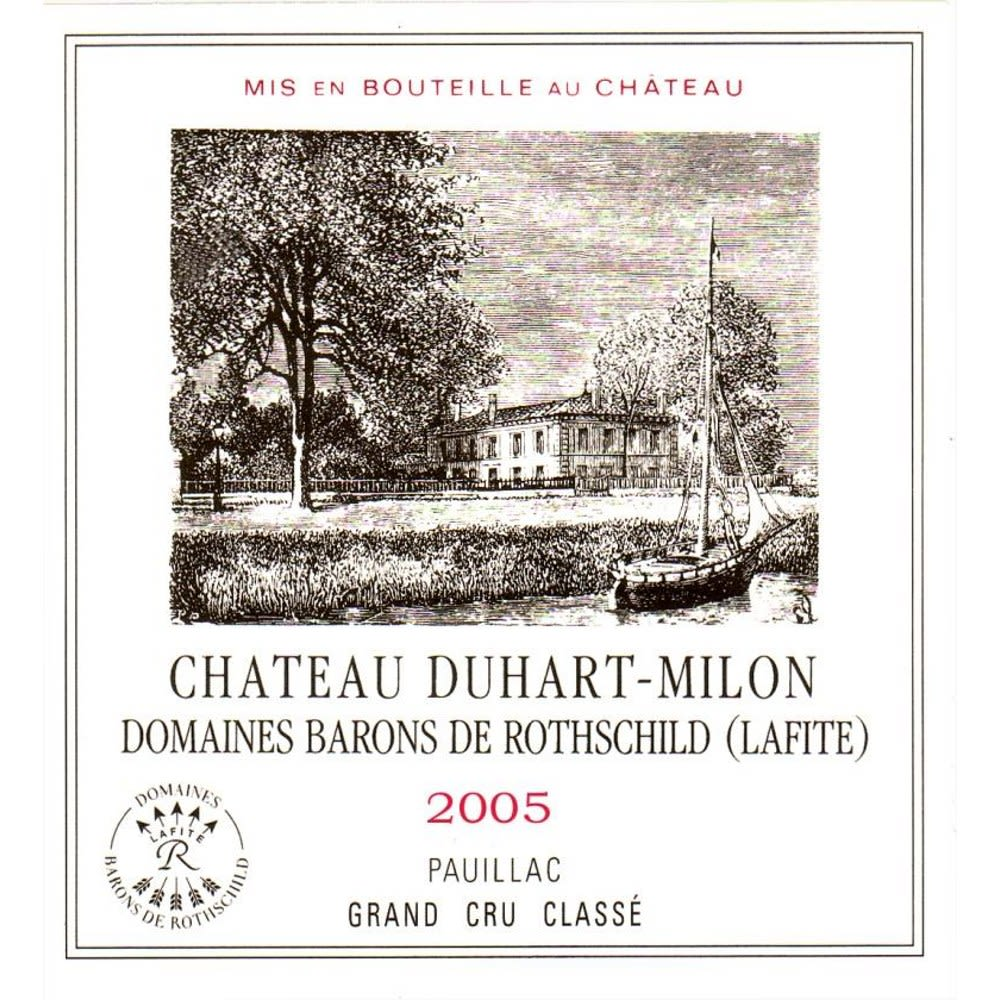 Chateau Duhart-Milon  2005 Front Label