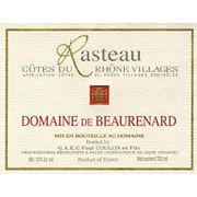 Domaine de Beaurenard Rasteau Cotes du Rhone Villages 2004 Front Label