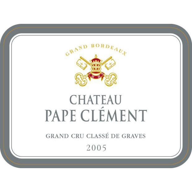 Chateau Pape Clement  2005 Front Label