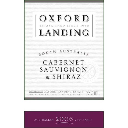 Oxford Landing Cabernet-Shiraz 2006 Front Label