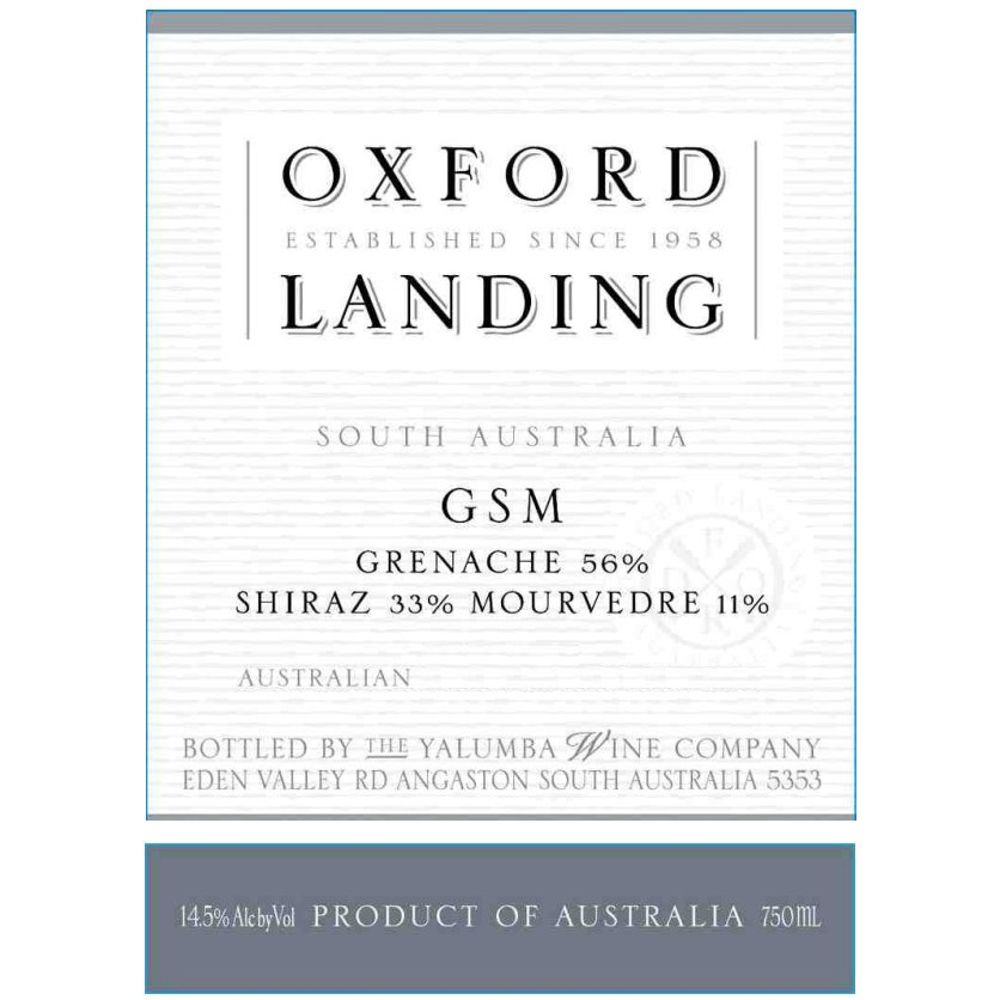 Oxford Landing GSM - Grenache Shiraz Mourvedre 2006 Front Label