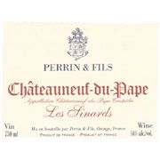 Famille Perrin Chateauneuf-du-Pape Les Sinards 2005 Front Label