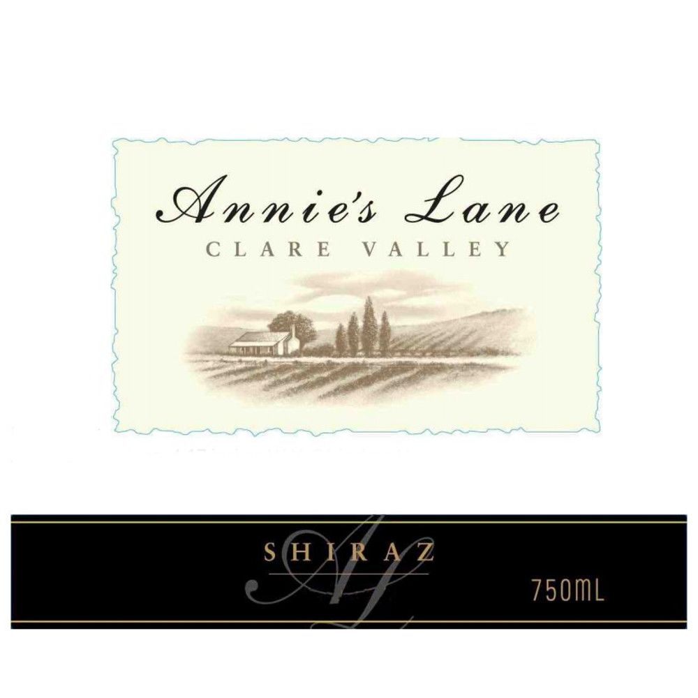 Annie's Lane Shiraz 2006 Front Label