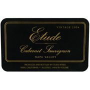 Etude Napa Valley Cabernet Sauvignon (375ML half-bottle) 2004 Front Label