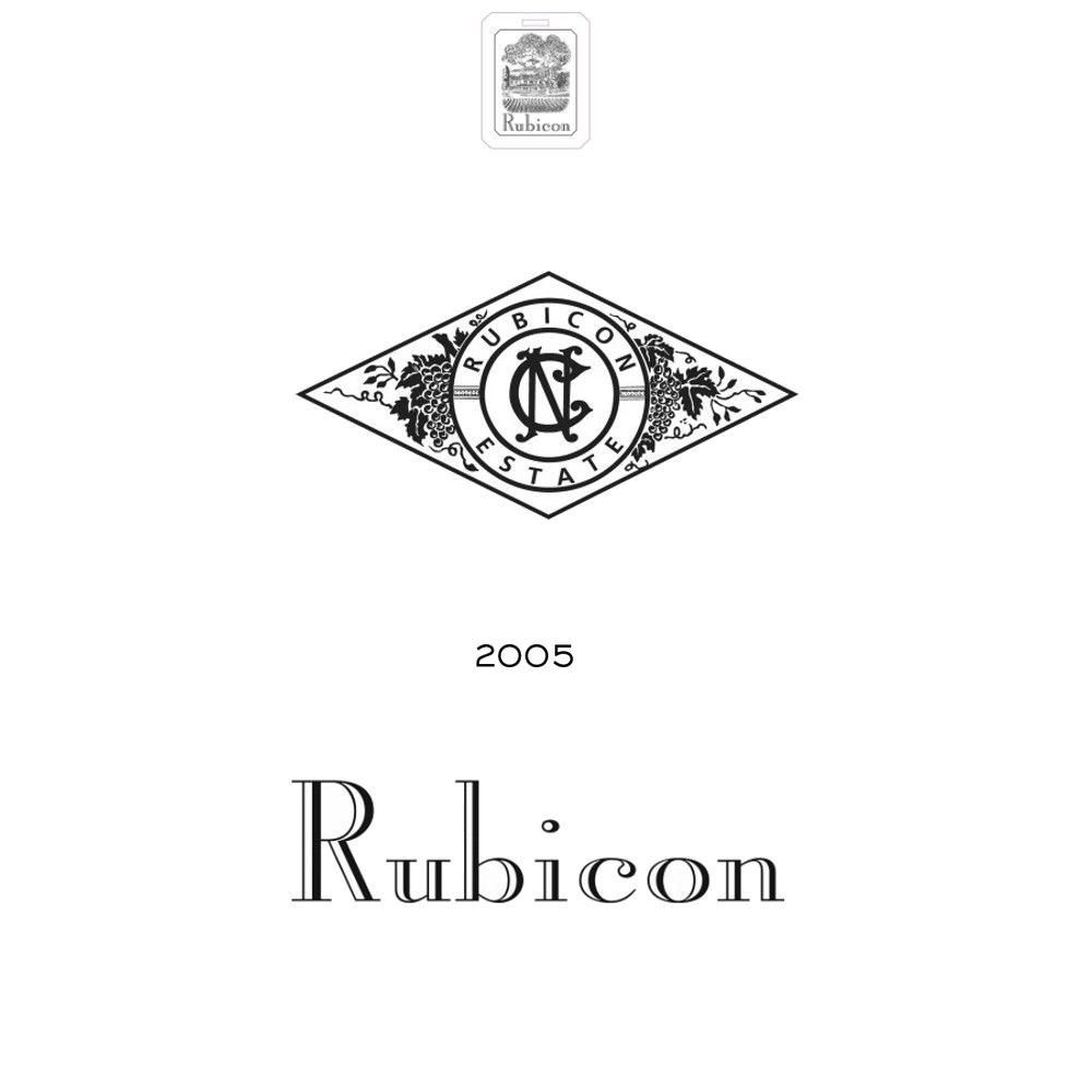 Inglenook Rubicon 2005 Front Label