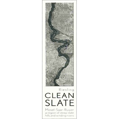 Clean Slate Riesling 2007 Front Label