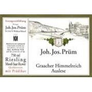 J.J. Prum Graacher Himmelreich Gold Capsule Auslese Riesling 2006 Front Label