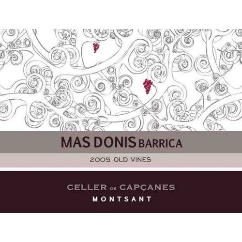 Mas Donis Mas Donis Barrica 2005 Front Label