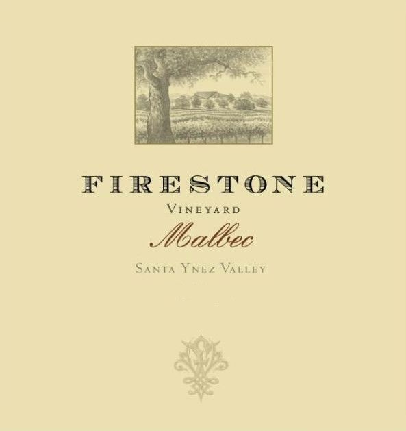 Firestone Malbec 2010 Front Label