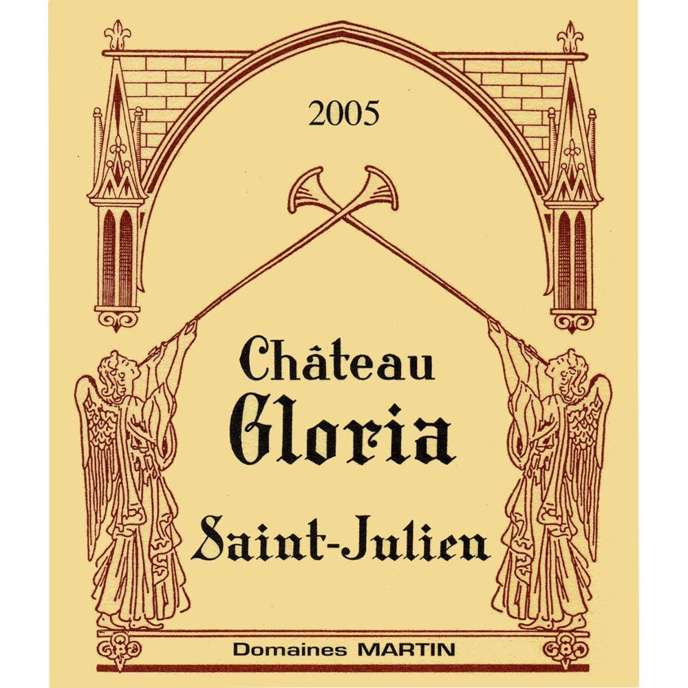 Chateau Gloria  2005 Front Label