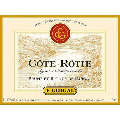 Guigal Cote Rotie Brune et Blonde 2003 Front Label