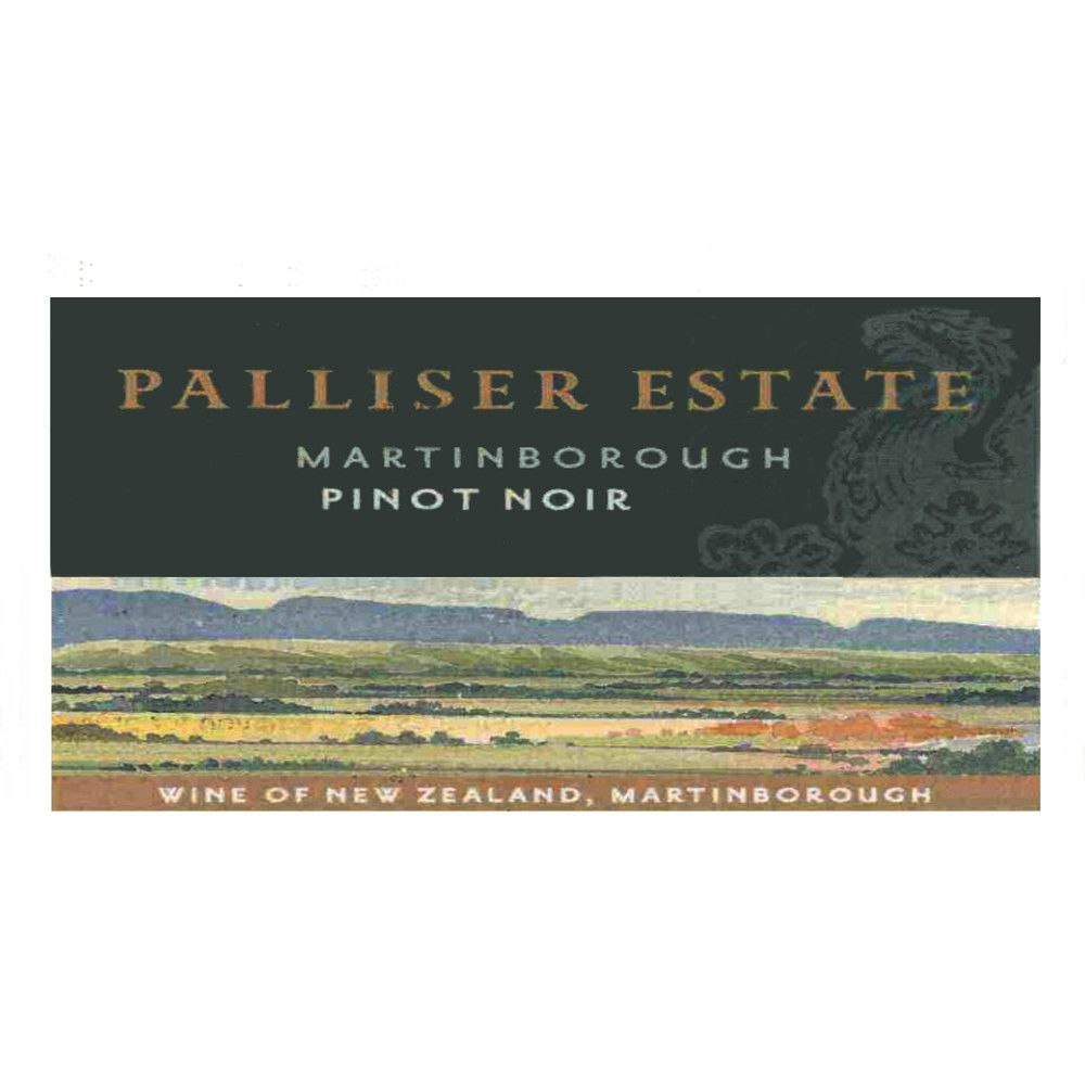 Palliser Estate Pinot Noir 2005 Front Label