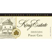King Estate Signature Collection Pinot Gris 2007 Front Label