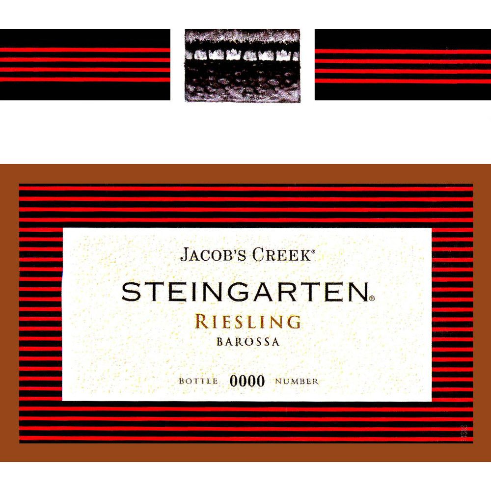 Jacob's Creek Barossa Steingarten Riesling 2006 Front Label