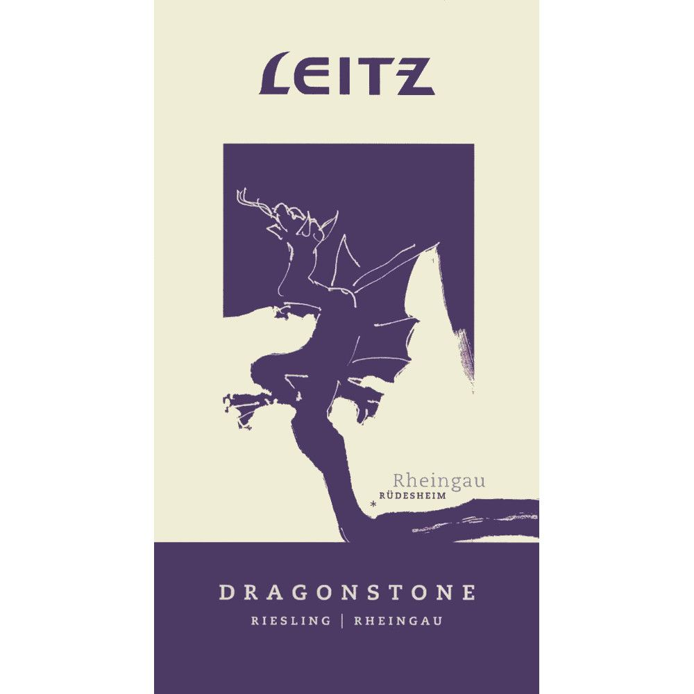 Josef Leitz Dragonstone Riesling 2007 Front Label
