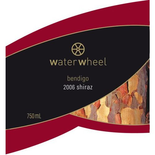 Water Wheel Shiraz 2006 Front Label
