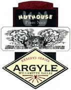 Argyle Nuthouse Pinot Noir 2005 Front Label