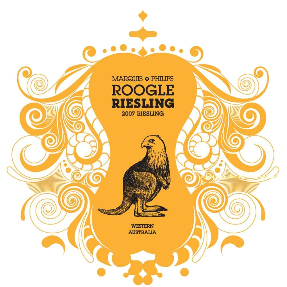Marquis Philips Baby Roogle Riesling 2007 Front Label