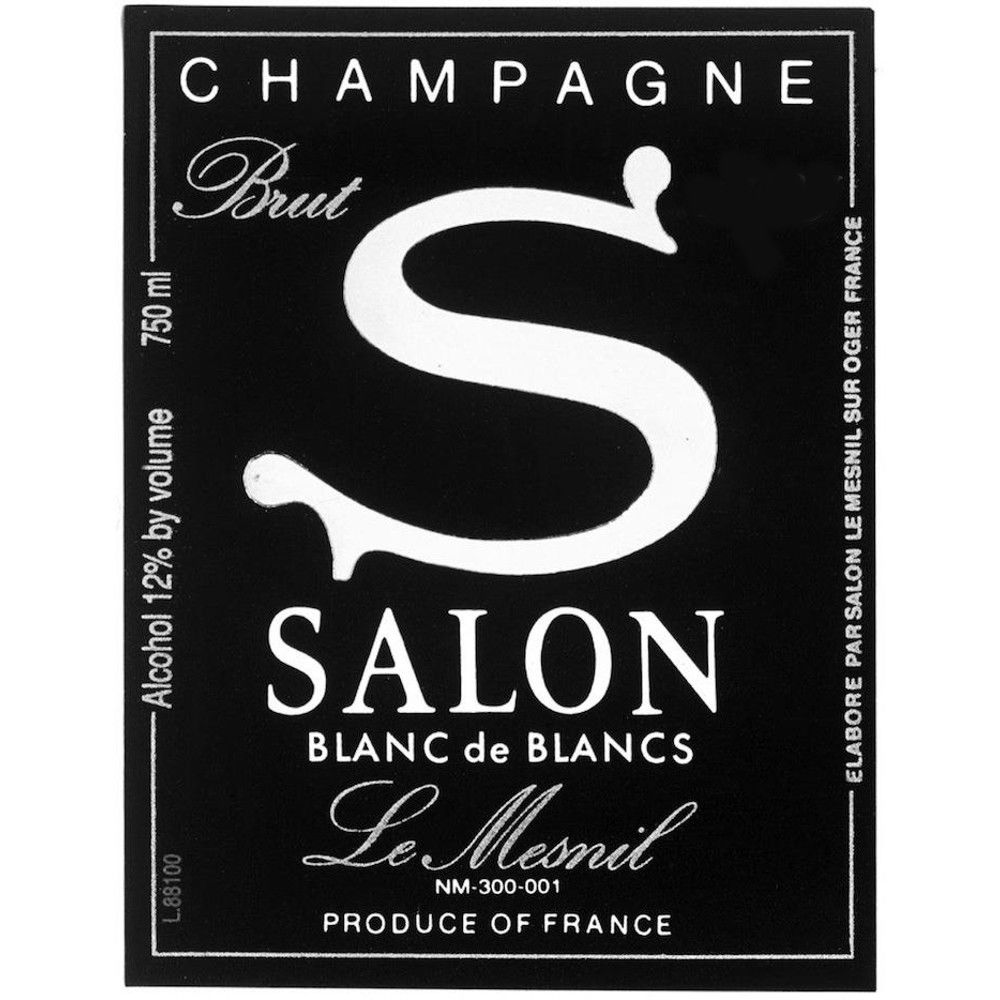 Salon Blanc de Blancs Le Mesnil (in Gift Box) 1997 Front Label