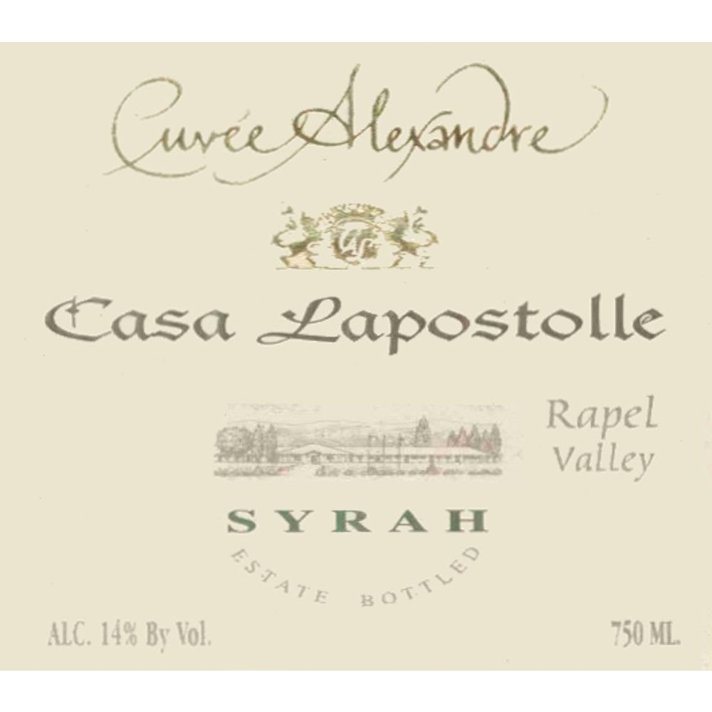 Lapostolle Cuvee Alexandre Syrah 2005 Front Label