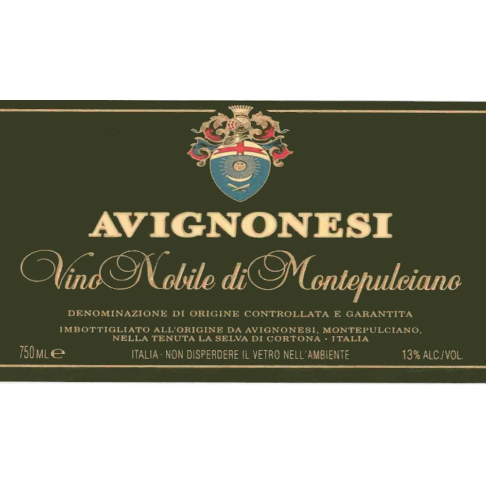 Avignonesi Vino Nobile di Montepulciano (375ML half-bottle) 2005 Front Label