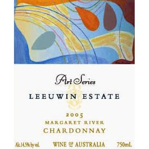 Leeuwin Estate Art Series Chardonnay 2005 Front Label