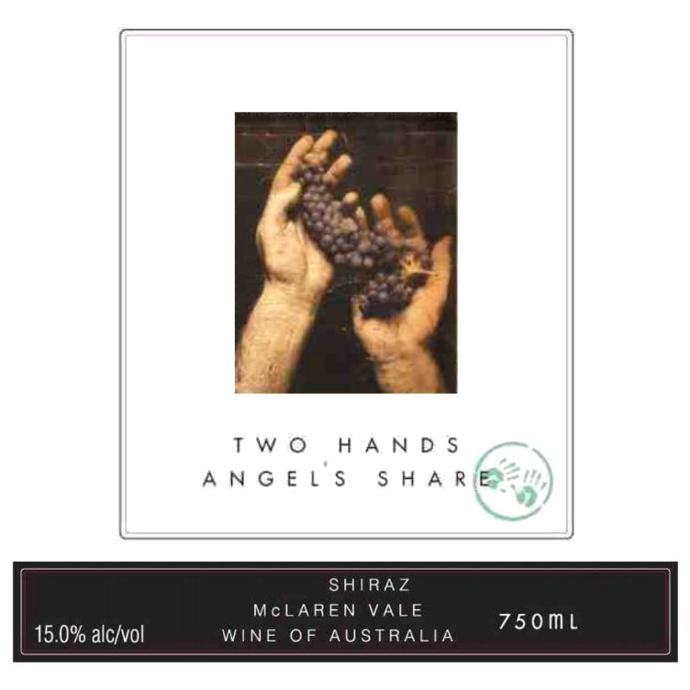 Two Hands Angels' Share Shiraz 2007 Front Label