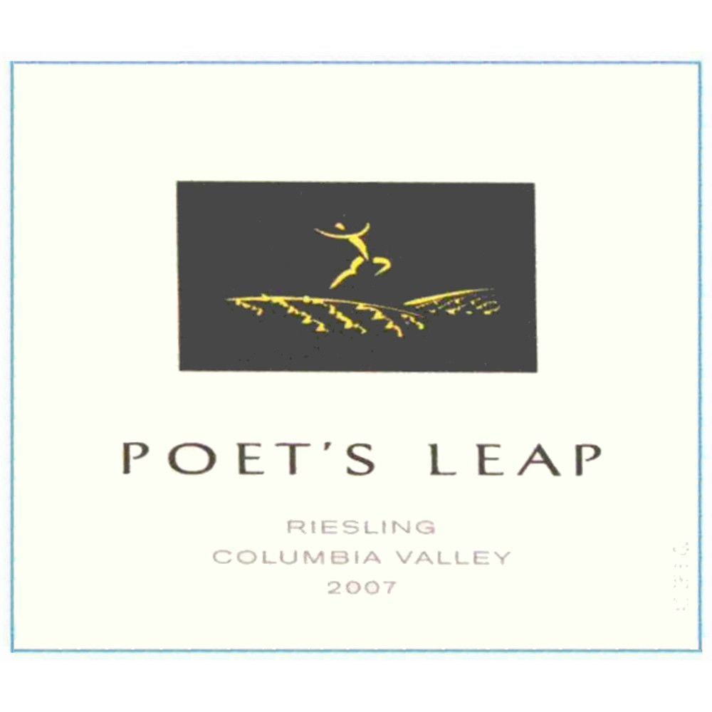 Poet's Leap Riesling 2007 Front Label