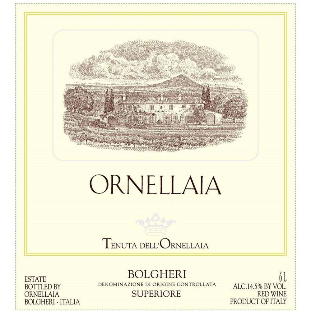 Ornellaia  2005 Front Label
