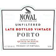 Quinta do Noval Late Bottled Vintage 2001 Front Label