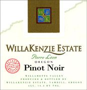 WillaKenzie Estate Pierre Leon Pinot Noir 2005 Front Label