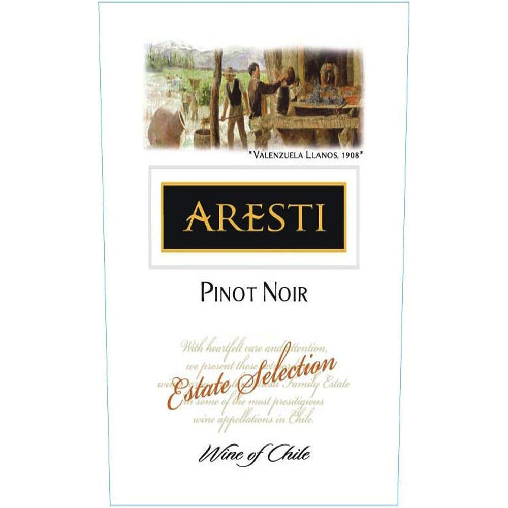 Aresti Estate Selection Pinot Noir 2006 Front Label