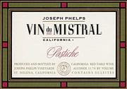 Joseph Phelps Pastiche Red 1998 Front Label
