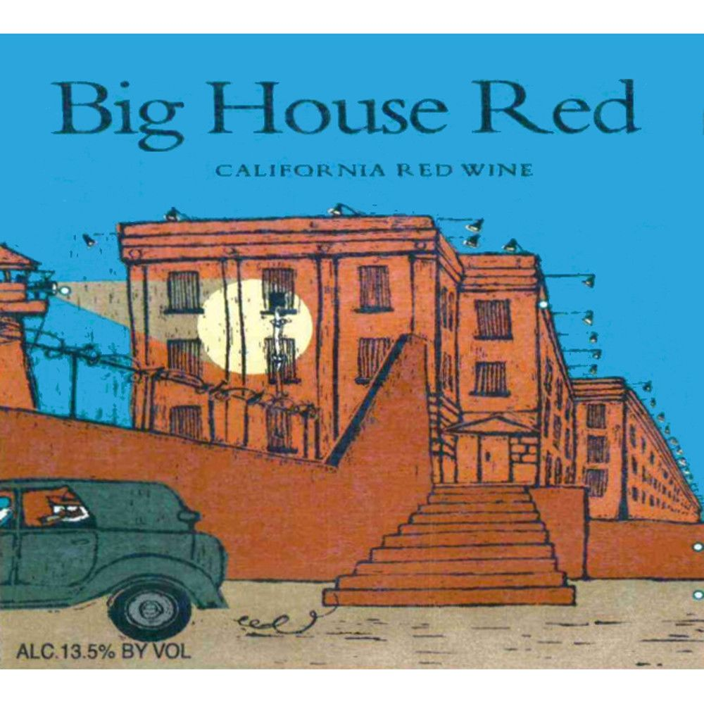 Big House Red Blend 2006 Front Label