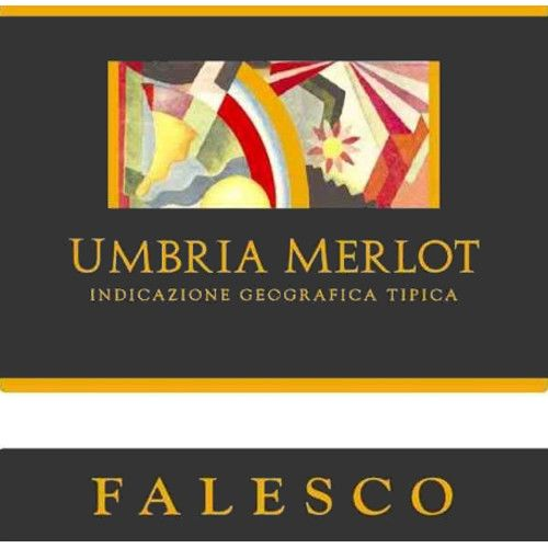 Falesco Merlot Umbria 2006 Front Label