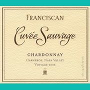 Franciscan Estate Cuvee Sauvage Chardonnay 2006 Front Label