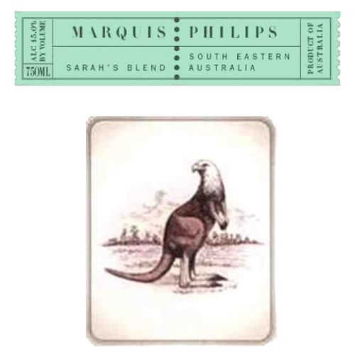 Marquis Philips Sarah's Blend 2007 Front Label