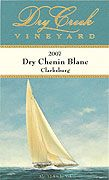 Dry Creek Vineyard Dry Chenin Blanc 2007 Front Label