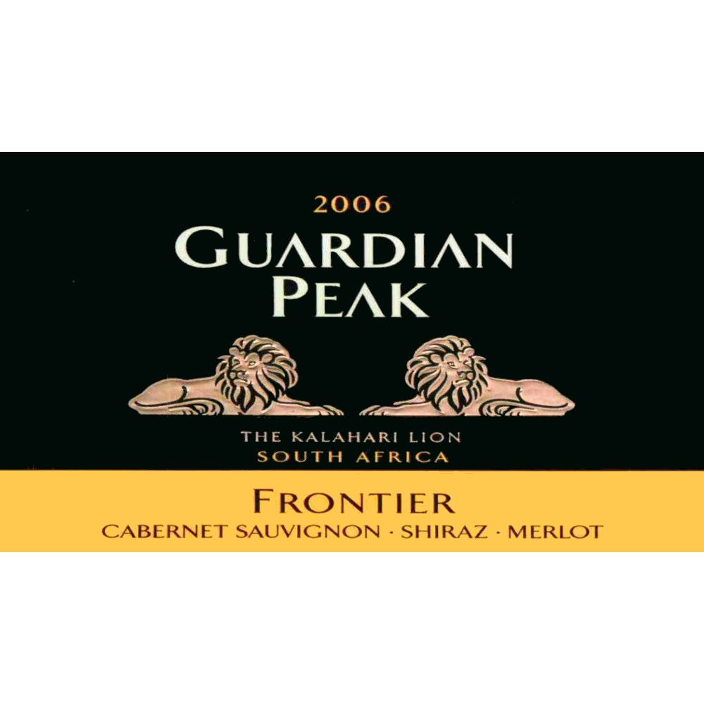 Guardian Peak Frontier 2006 Front Label