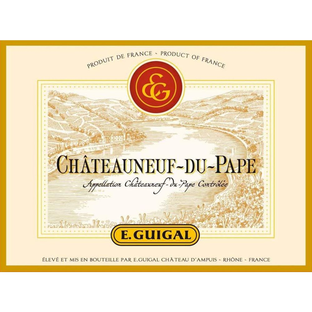Guigal Chateauneuf-du-Pape 2006 Front Label