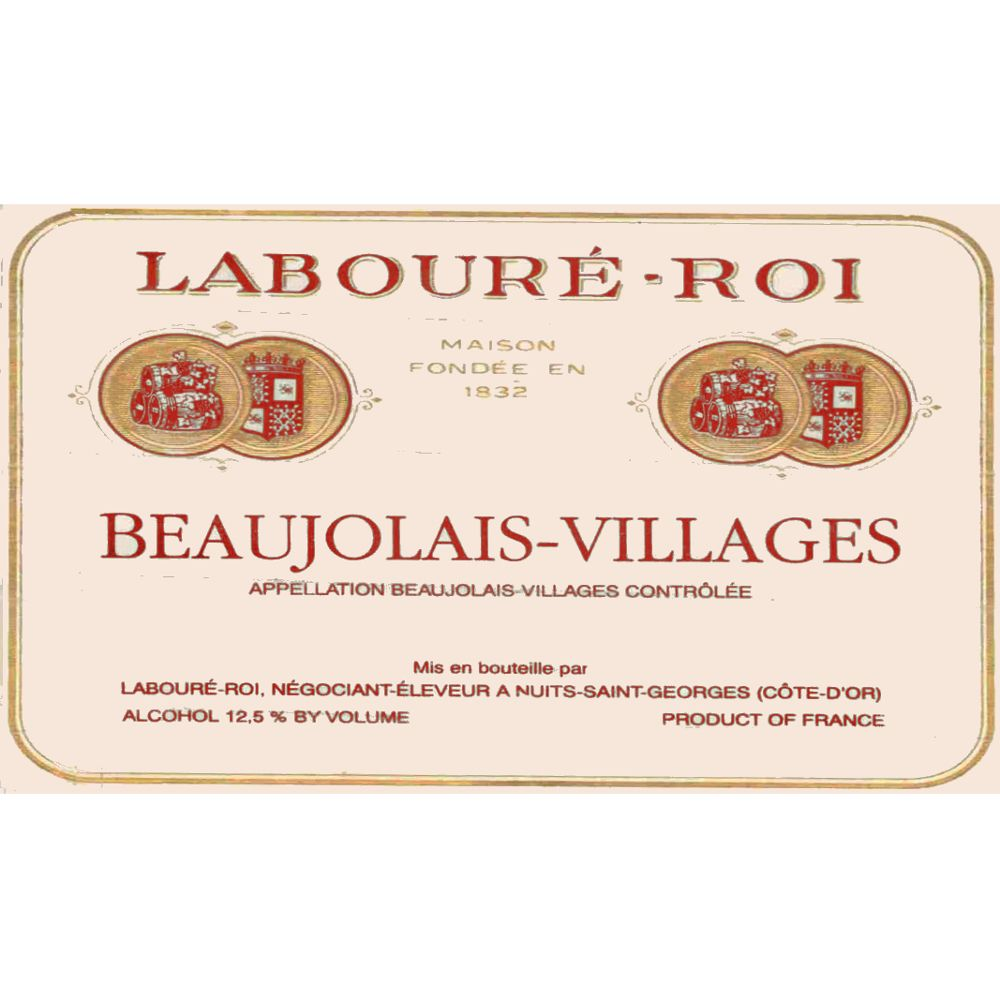 Laboure Roi Beaujolais Villages 2006 Front Label