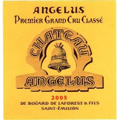 Chateau Angelus  2005 Front Label