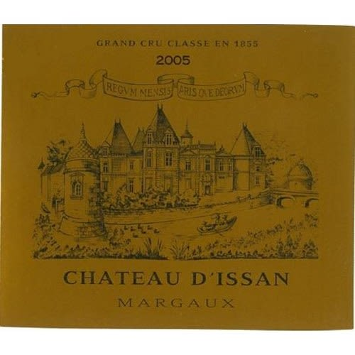 Chateau d'Issan  2005 Front Label