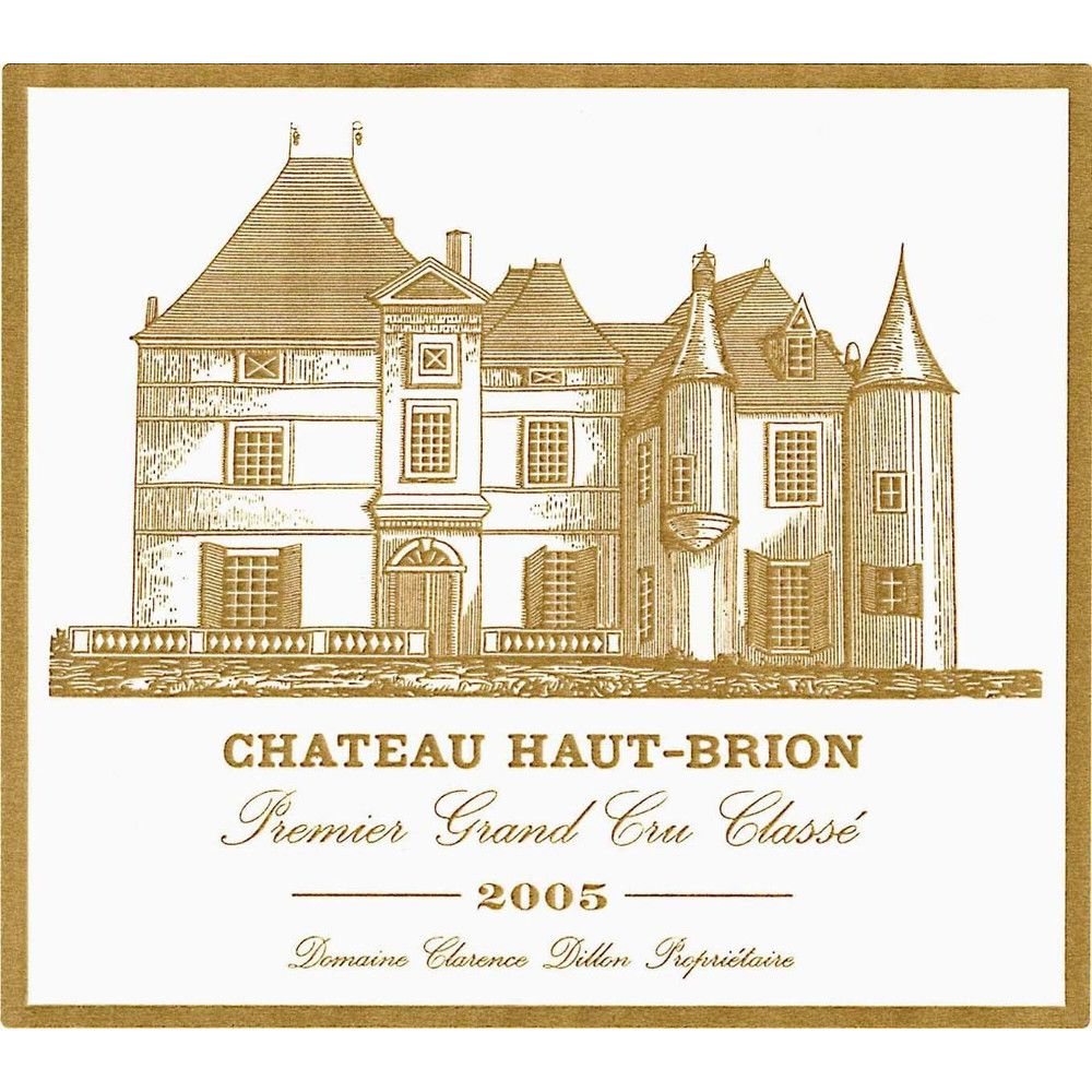 Chateau Haut-Brion  2005 Front Label