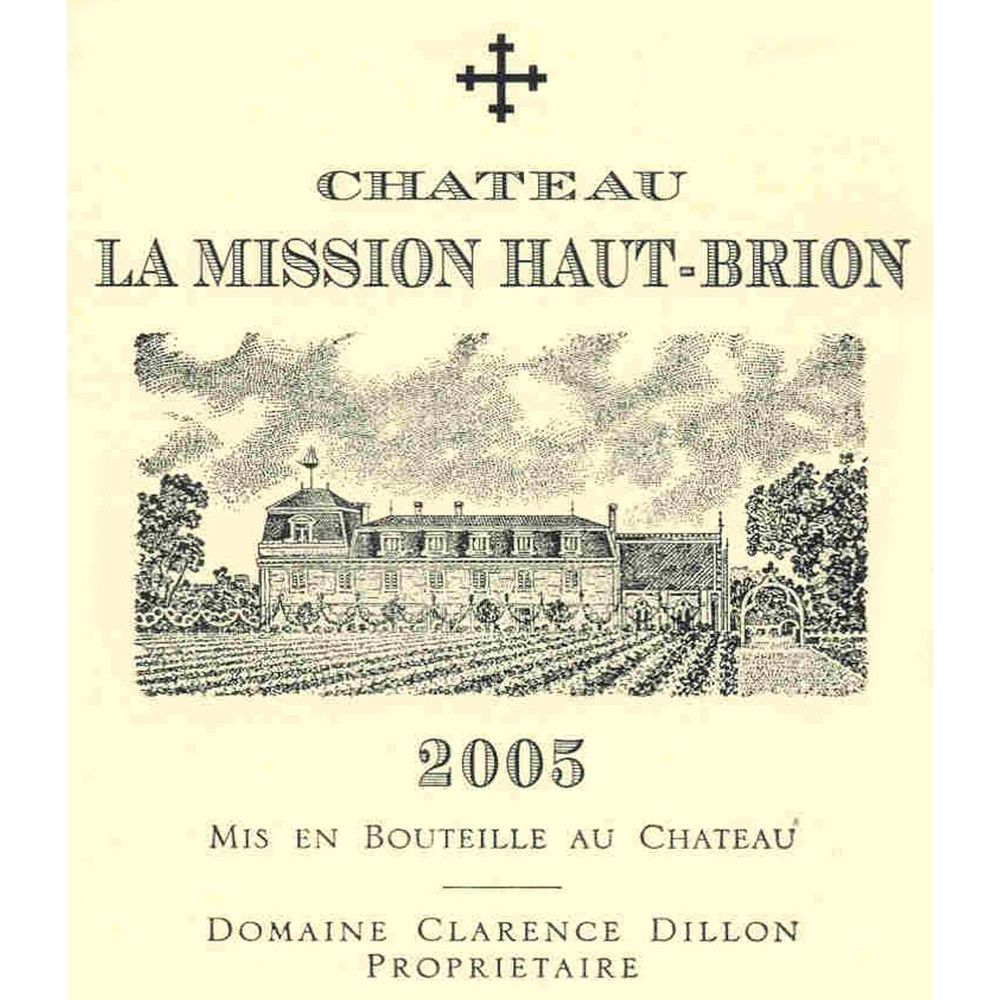 Chateau La Mission Haut-Brion  2005 Front Label