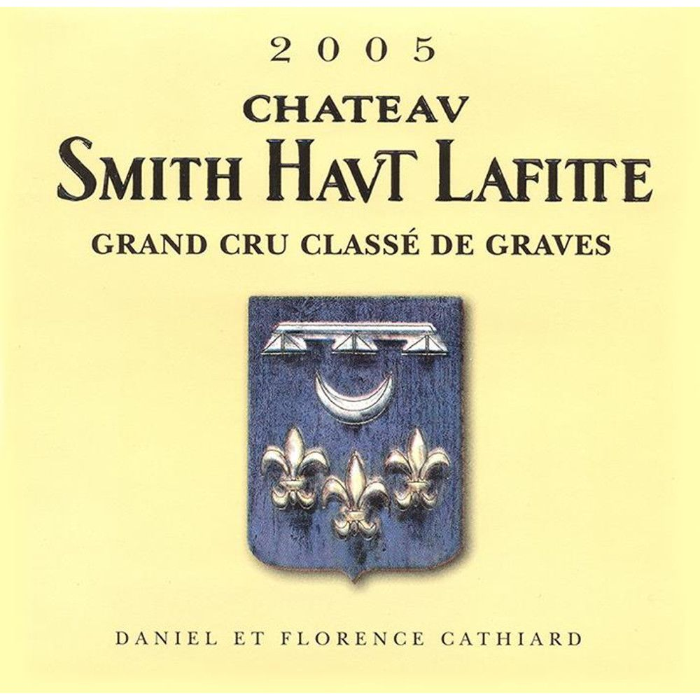 Chateau Smith Haut Lafitte  2005 Front Label