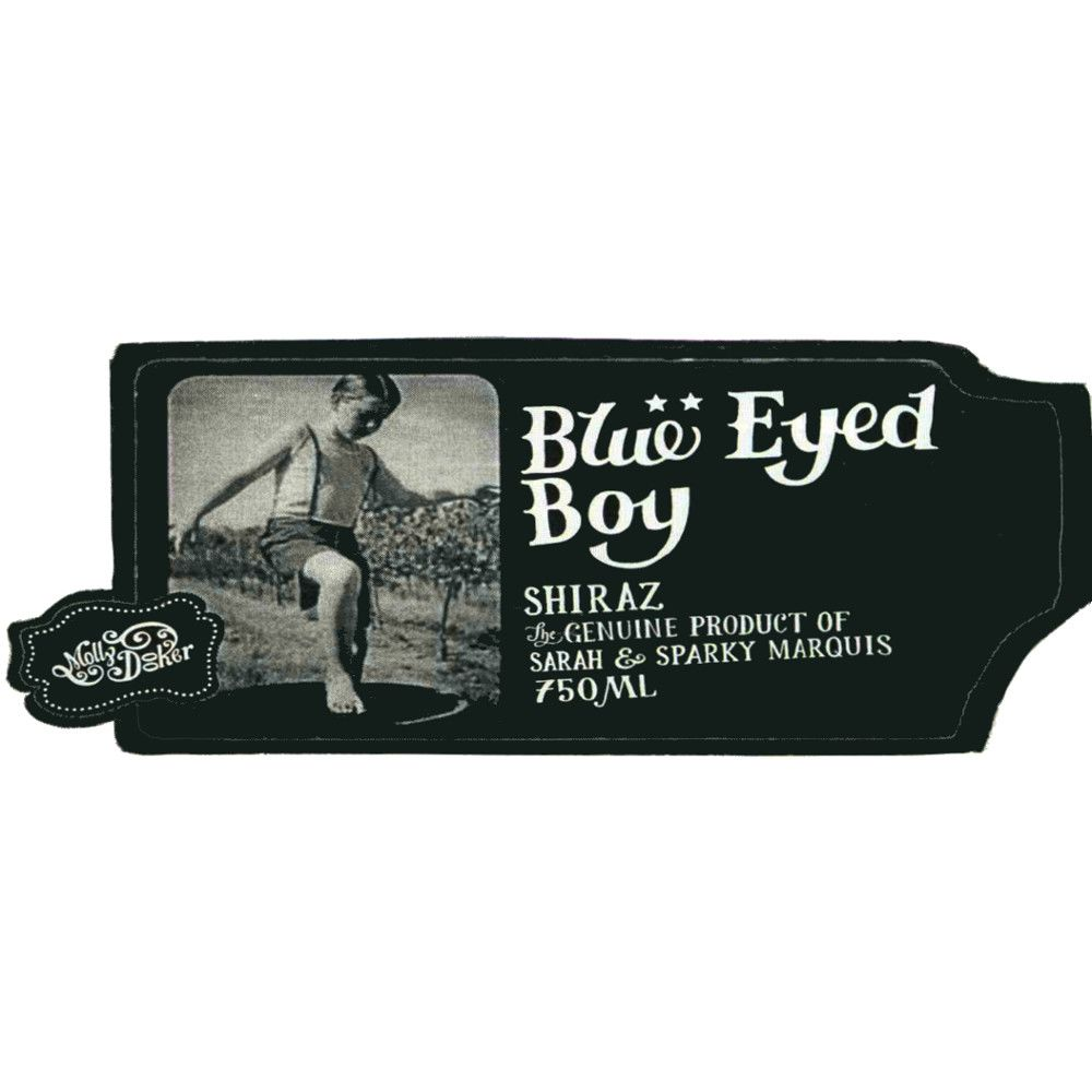 Mollydooker Blue Eyed Boy Shiraz 2007 Front Label
