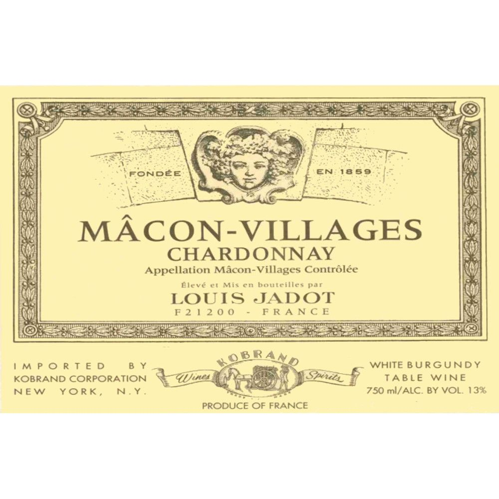 Louis Jadot Macon-Villages 2007 Front Label