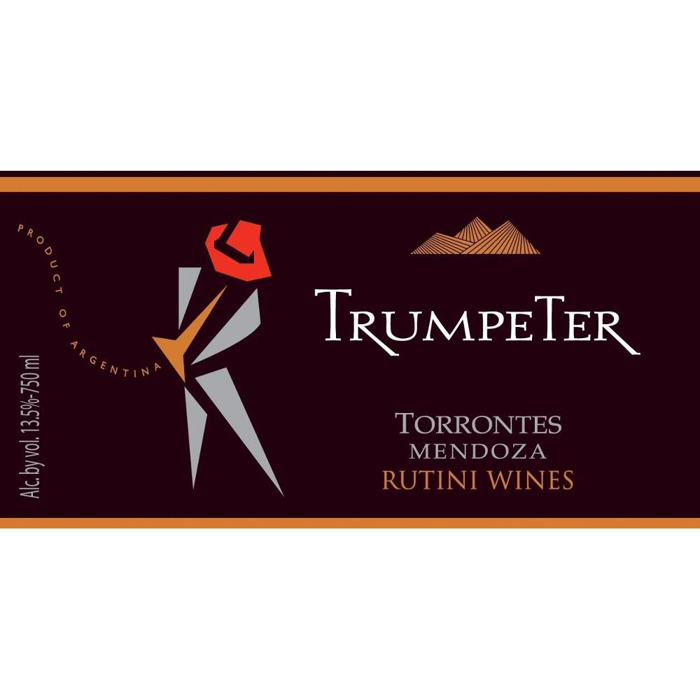 Trumpeter Torrontes 2007 Front Label