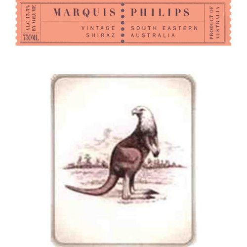 Marquis Philips Shiraz 2007 Front Label